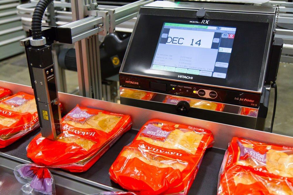 Hitachi RX-B Model Industrial Continuous Inkjet Printer