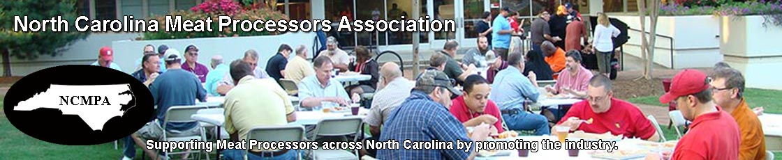 Packaging partners for the North Carolina Meat Processors Association