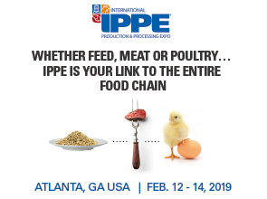"""IPPE TILE- """"WHETHER FEED, MEAT OR POULTRY...IPPE IS YOU LINK TO THE ENTIRE FOOD CHAIN"""""""