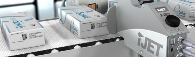 HP Industrial thermal inkjet Printer for barcode and 2d code printer on boxes, cases and cartons.