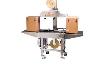 Top and bottom case sealer