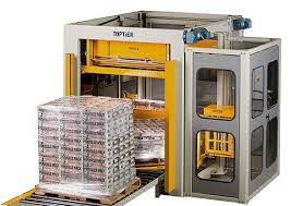 TopTier palletizing and stretch wrapping system