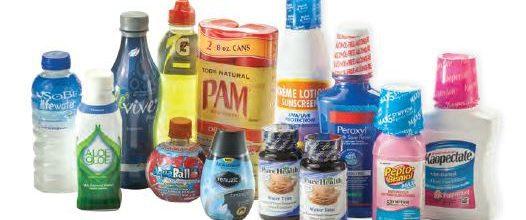 Packaging film for shrink bands, shrink tubes, shrink sleeves, and tamper evident bands.