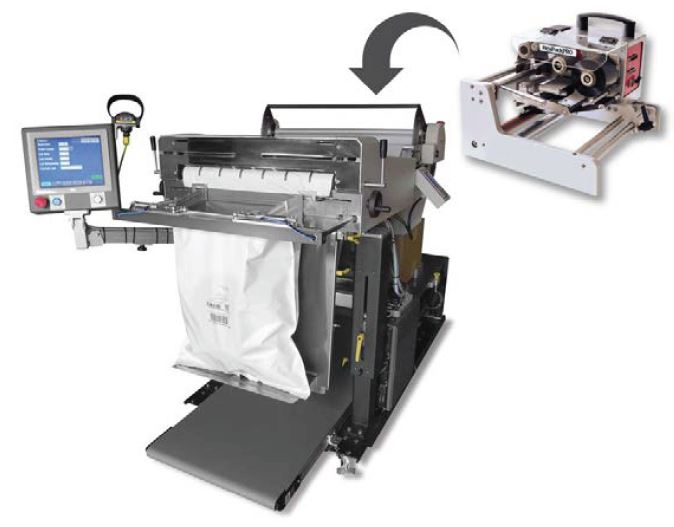 Autobagger printer conversion