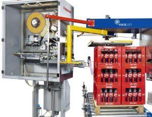 Pallet Labeling for Beverage and soda